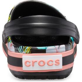 Crocs Crocband Seasonal Graphic Clogs, black/floral